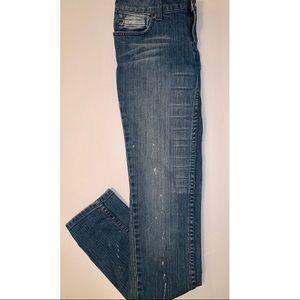 Forever 21 Denim Bleached Jeans